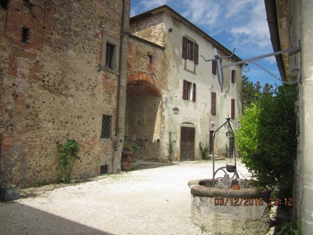 Колодец замка Сорчи Ареццо