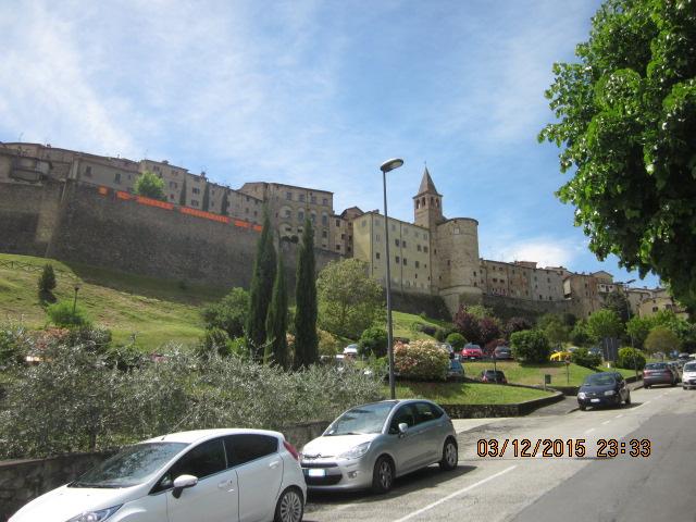 Крепость Ангиари, Тоскана