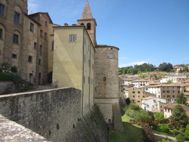 Крепость Ангиари Тоскана