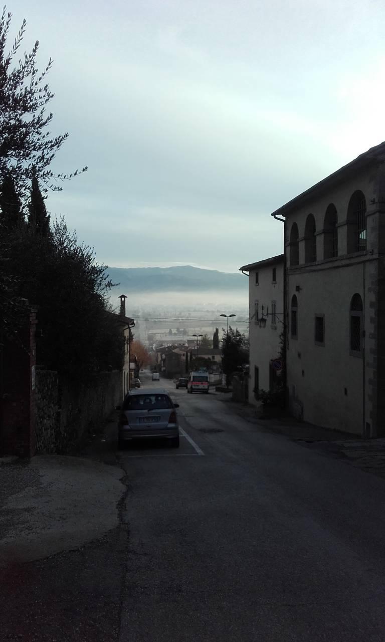 Ангиари, Тоскана, улицы старого города