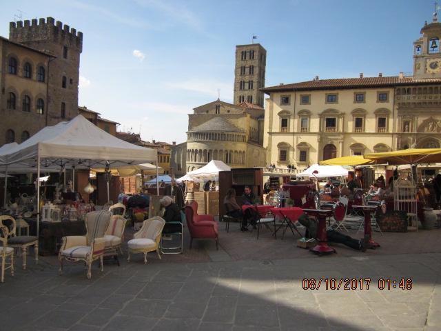 шопинг Тоскана антиквариат Ареццо