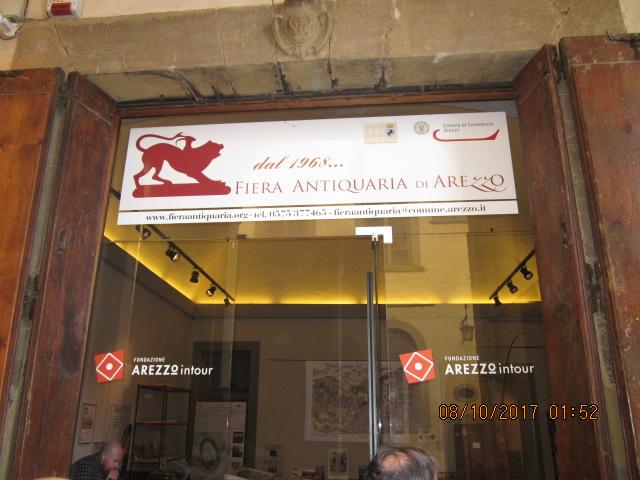 лавка антиквара шопинг Тоскана Ареццо