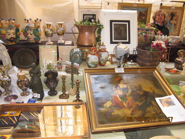 шопинг антиквариат живопись Ареццо